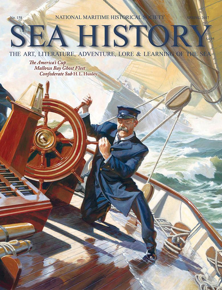 Sea History 158 cover