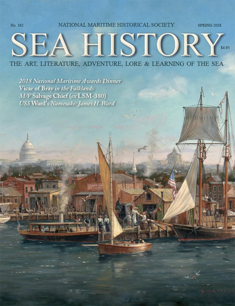 Sea History 162 cover