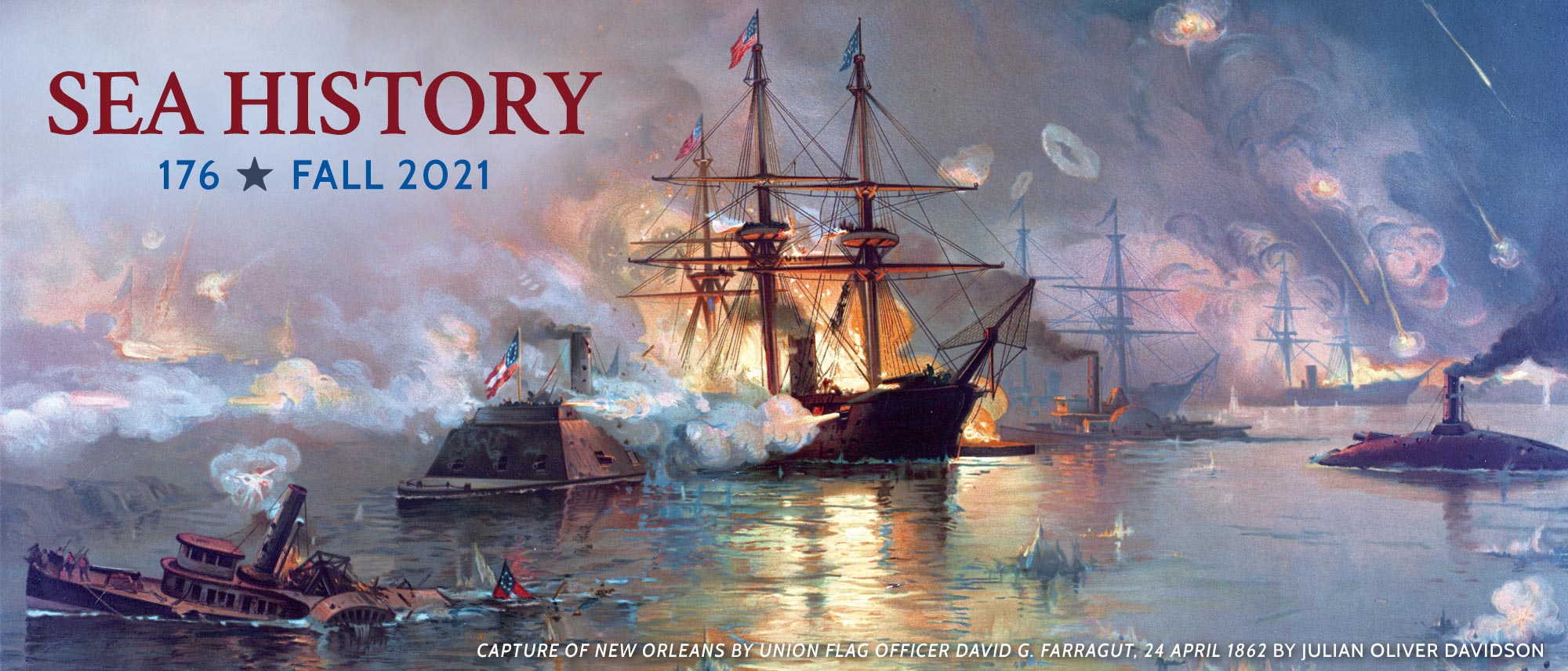 In the Pages of <em>Sea History</em> 176 – Fall 2021