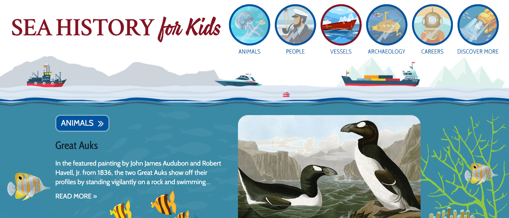 Sea History for Kids