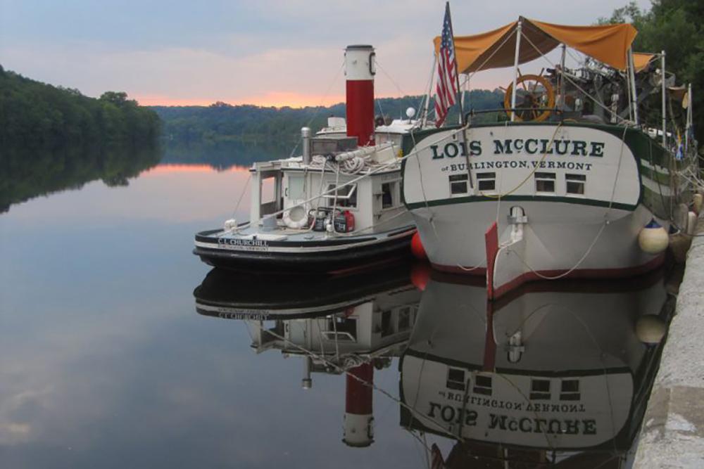Schooner Lois McClure Lake Champlain Maritime Museum