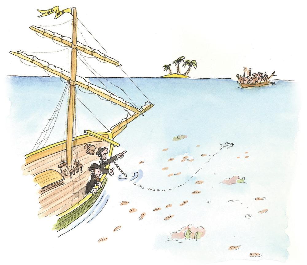 Sea Cucumber Ship