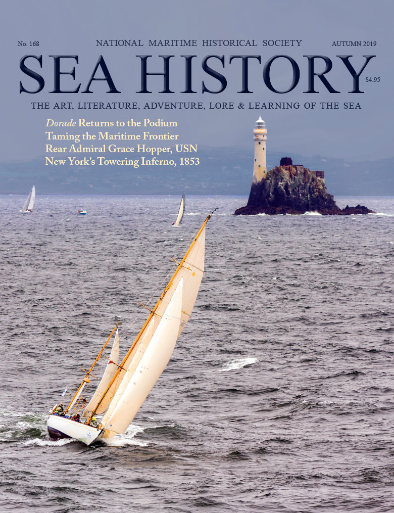 Sea History 168 Cover Dorade