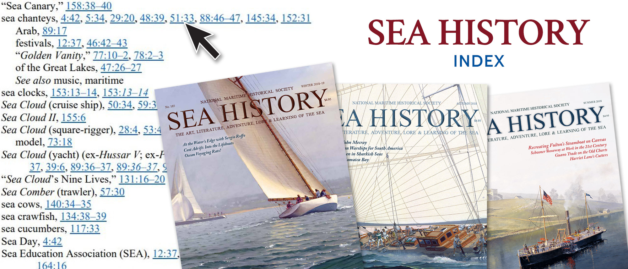 Sea History Index