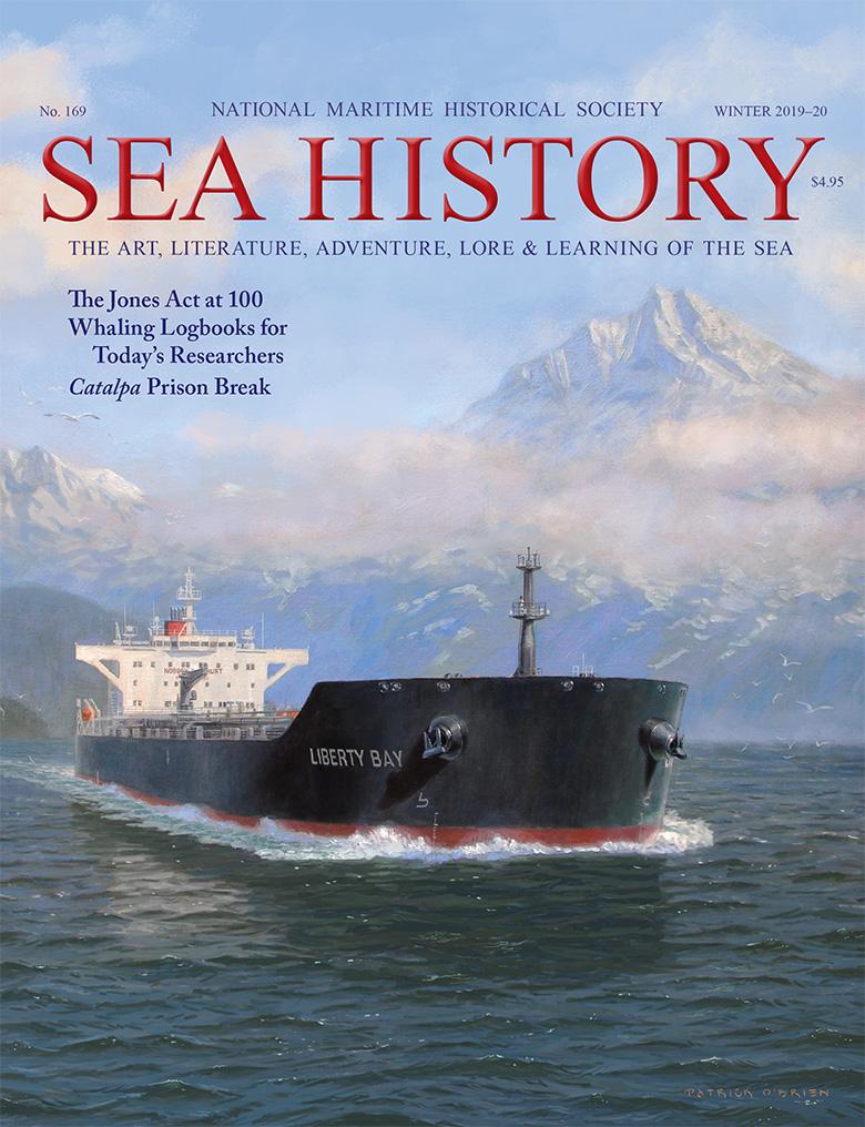 Sea History 169 Cover