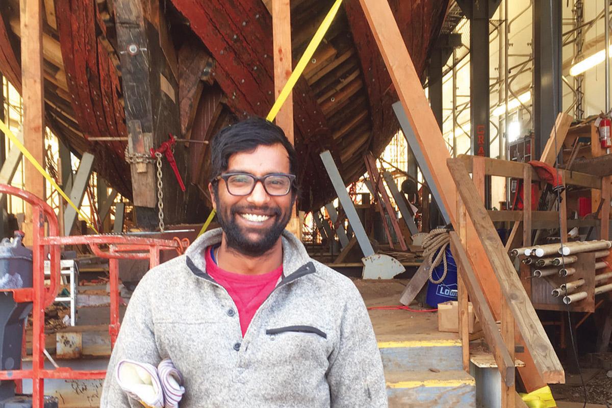Shipwright Krit Singh