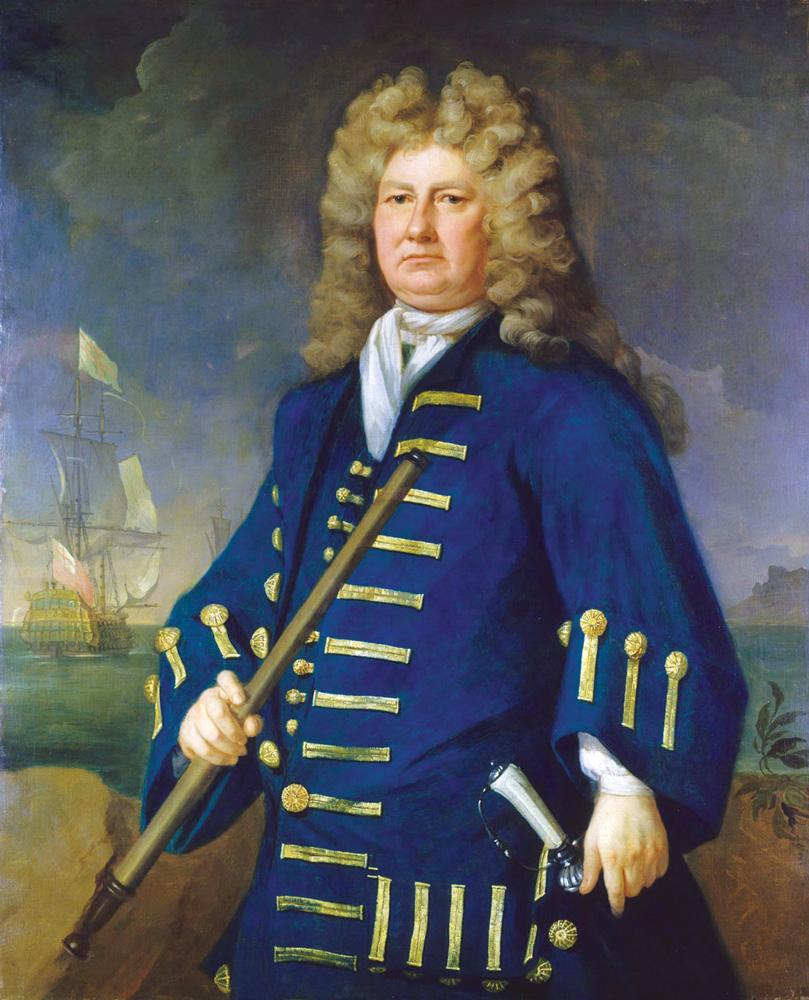Sir Cloudesley Shovell 1650 1707