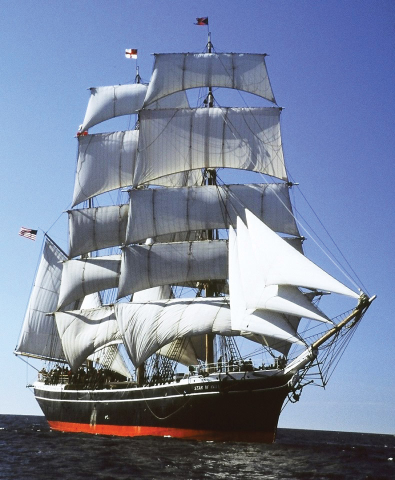 Star Of India Sailing