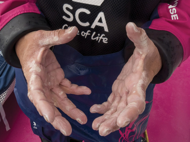 Team SCA blisters