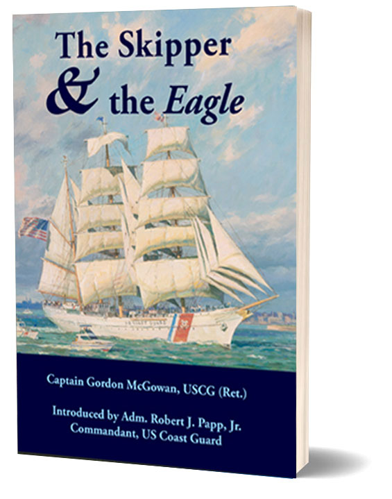 The Skipper And The Eagle Standing Book