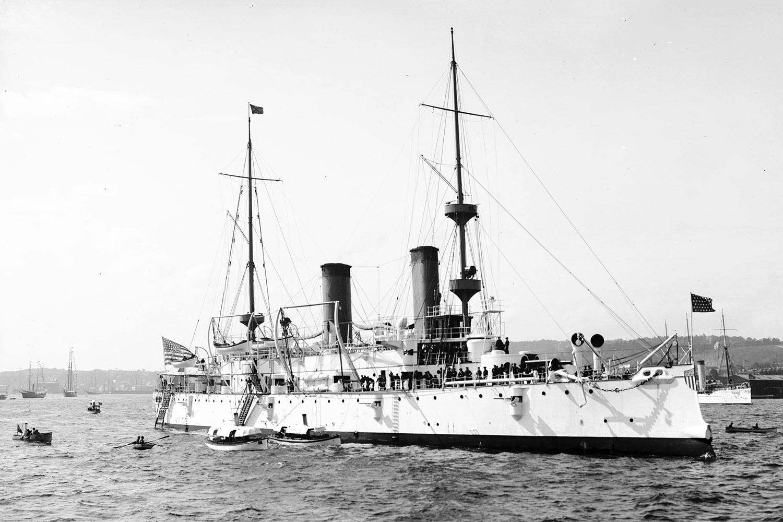 USS Olympia 1895-1901