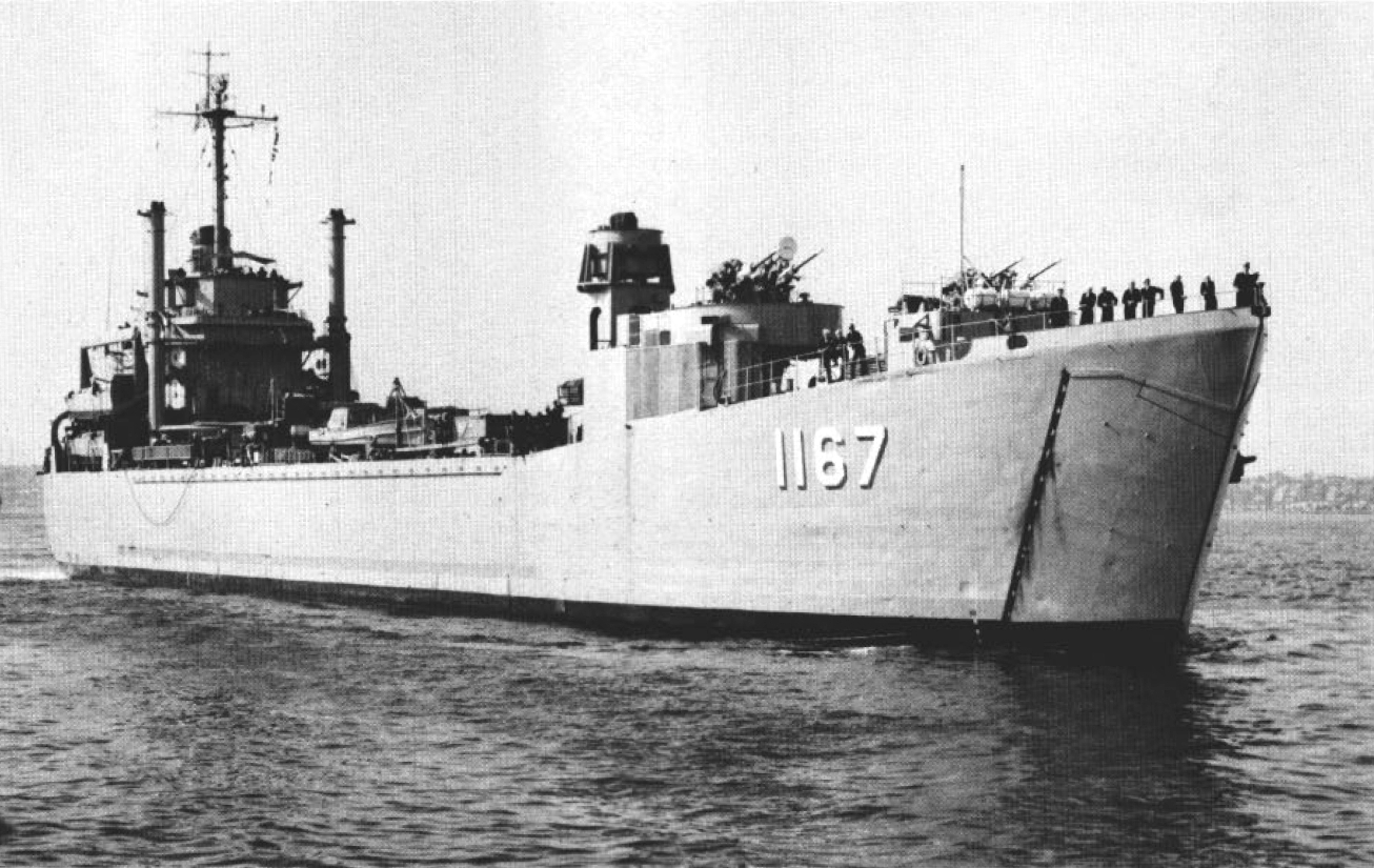 USS Westchester County, LST-1167