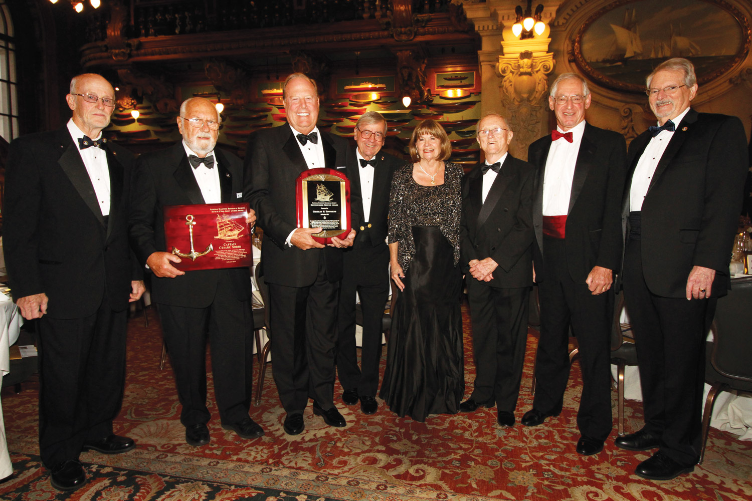 Yacht Club Walter Brown, Cesare Sorio, Charles Townsend, George Carmany, Burchenal Green, John Stobart, Rich Du Moulin, Ronald Oswald AAD 2016