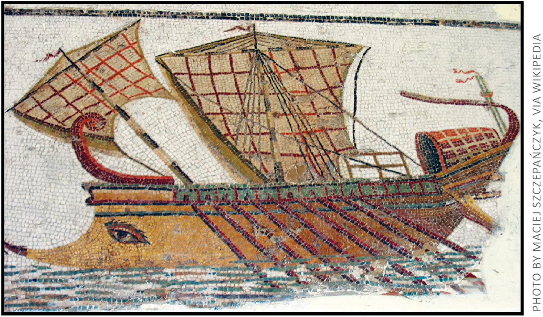 Ancient Roman Trireme