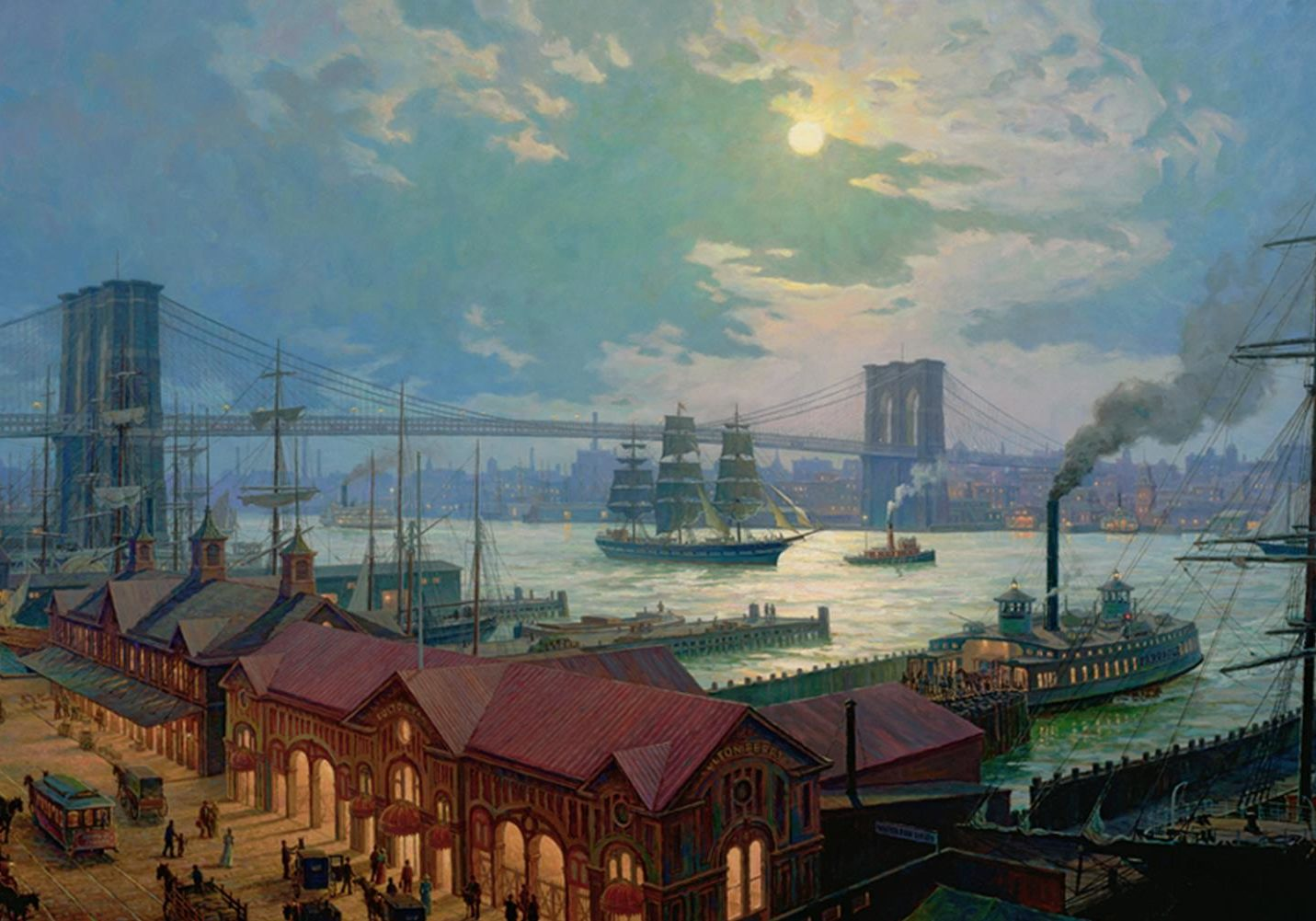 South Street Fulton By William G. Muller