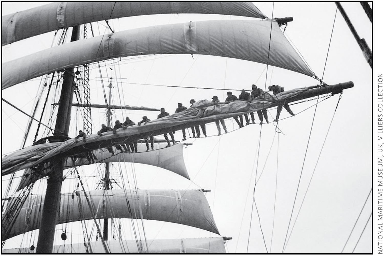 Four Masted Barque Parma