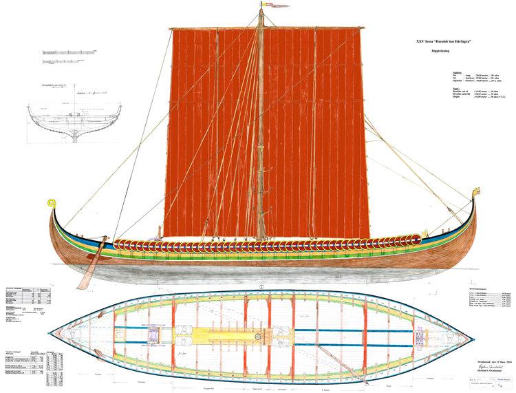 Port Visit By The Viking Ship Draken Harald Harfagre Pop Up